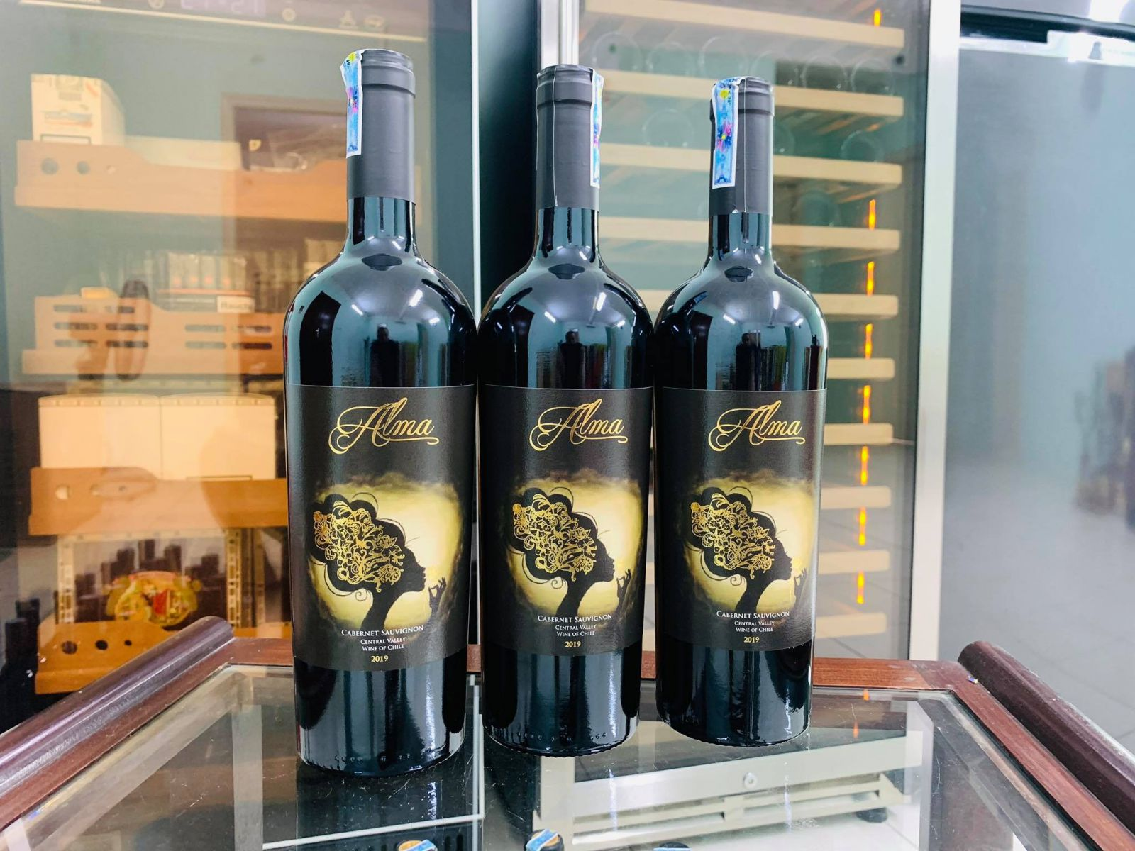 Rượu vang Chile ALMA Cabernet Sauvignon