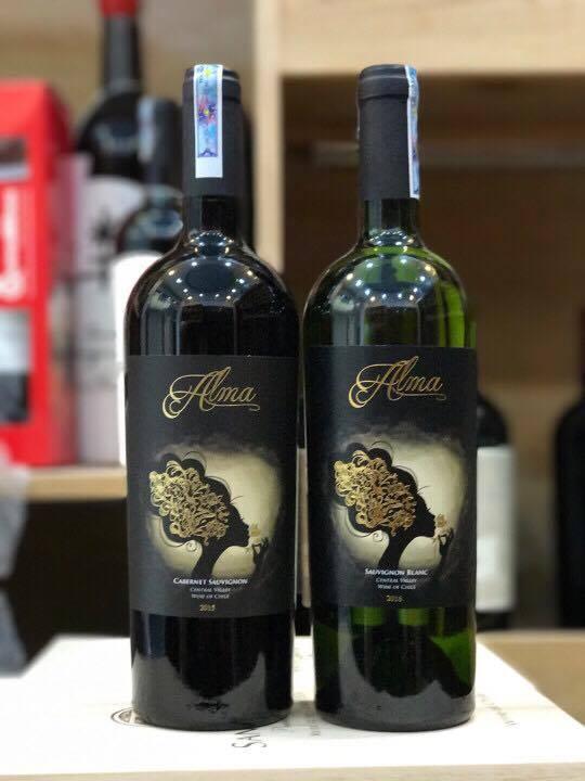 Rượu vang Chile ALMA Sauvignon Blanc