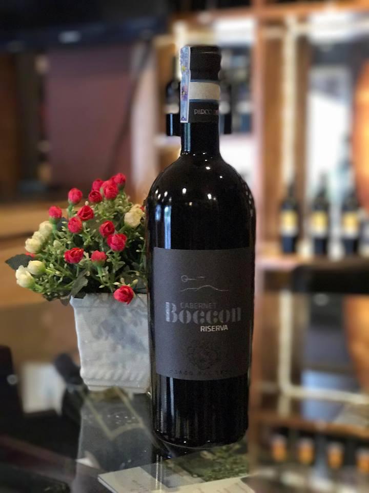 Rượu vang Ý cao cấp Boccon Cabernet Riserva