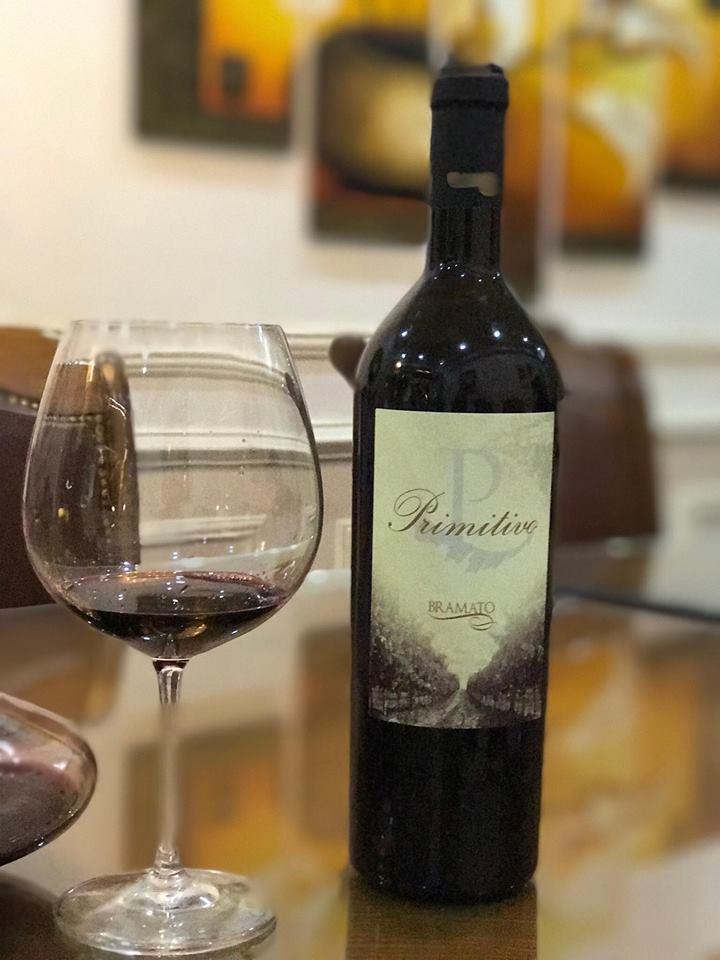 Rượu vang Ý thượng hạng Bramato Primitivo 18 độ