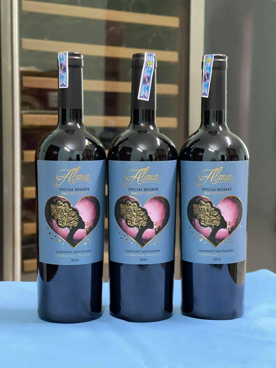 Rượu vang Chile Alma Special Reserva Handpicked Cabernet Sauvignon
