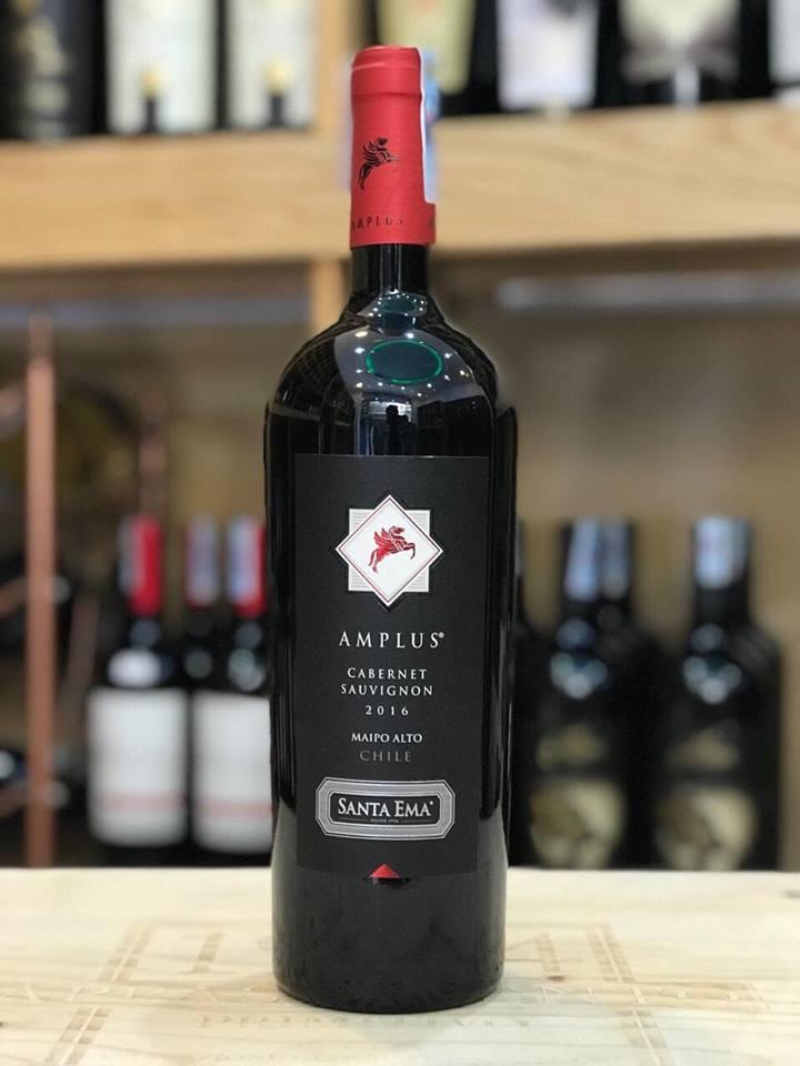 Rượu vang Chile Santa Ema Amplus Cabernet Sauvignon