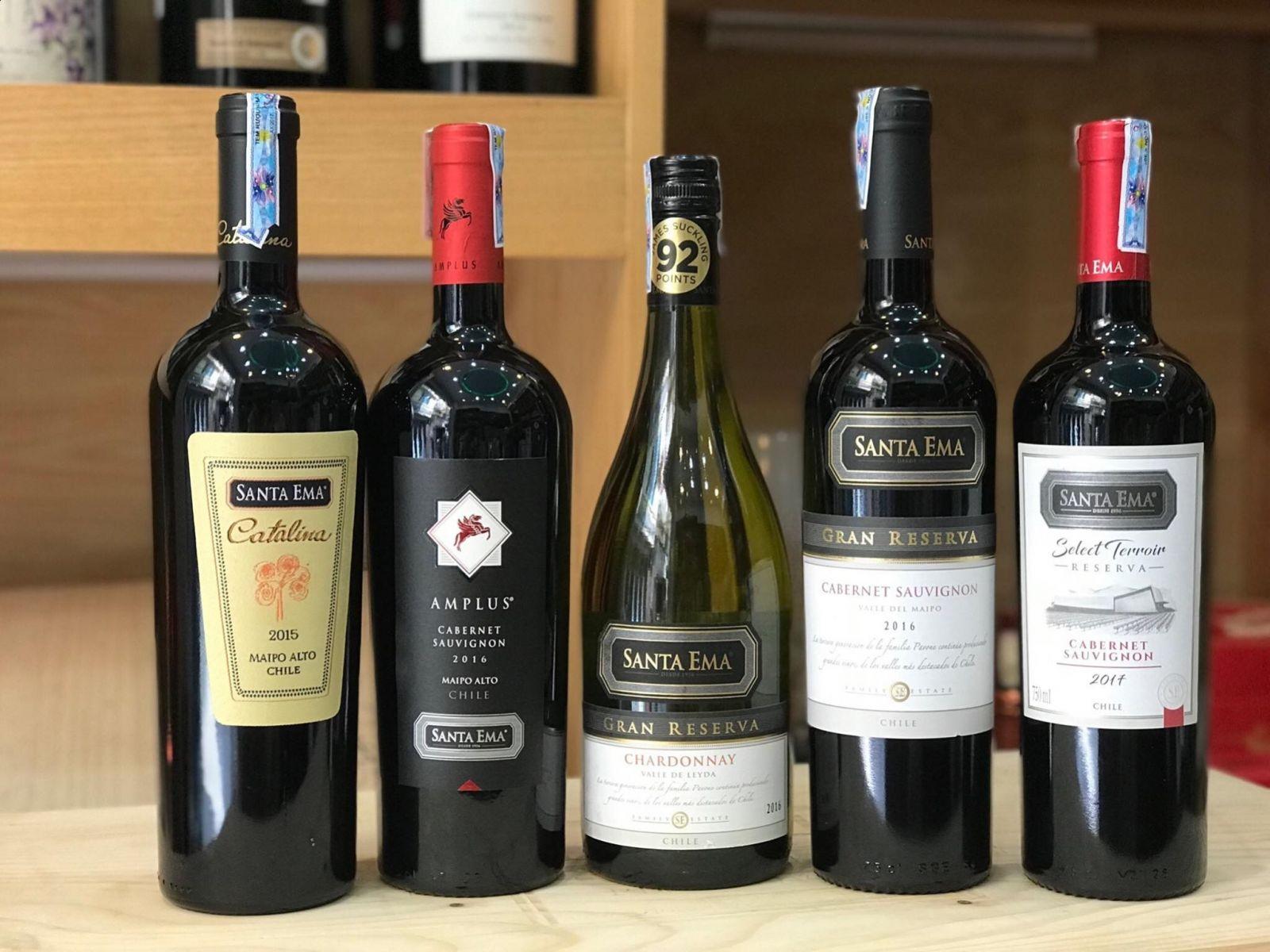 Rượu vang Chile Santa Ema