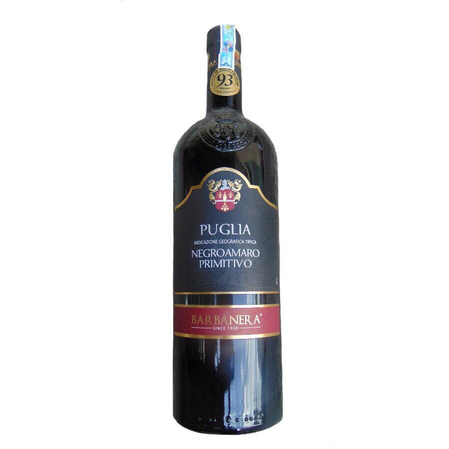 Rượu vang Ý Barbanera - Negroamaro Primitivo
