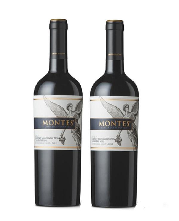 Montes Alpha Limited Selection Cabernet Sauvignon, Carmenere