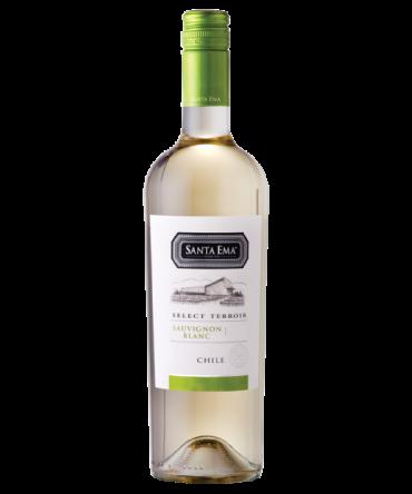 Rượu vang Chile Santa Ema Reserva Chardonnay, Sauvignon Blanc