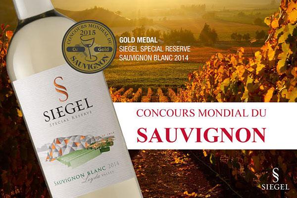 Rượu vang Chile Siegel Special Reserva Sauvignon Blanc