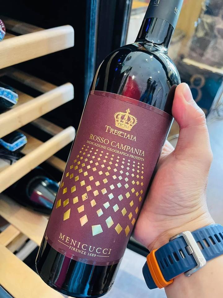 Rượu Vang Ý Trecciaia Rosso Campania IGP