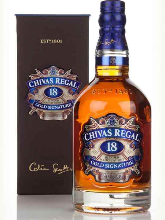 Chivas 18 Years Old