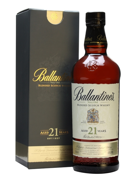 Ballantines 21 Years Old