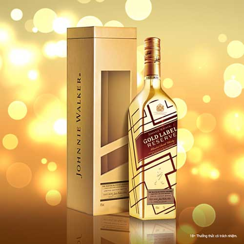 Johnnie Walker Gold Label Reserve Limited Edition - Chai vàng IBC
